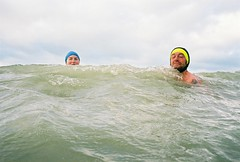 yvonne & john (lomokev) Tags: morning sea cloud water smile sport clouds swimming john brighton gray wave yvonne fujisuperia400 deletetag nikonosv nikonos5 seaswimming file:name=nikonosvfujisuperia400040620a johnsc flickr:user=yvoluna flickr:nsid=13520439n07