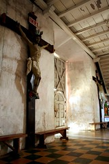 pagkaluwas (Farl) Tags: door travel light church colors catholic cross faith philippines religion culture crucifix cebu simbahan tradition portals boljoon cebusugbo