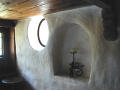 nook (Gary Zuker) Tags: house building home architecture straw plaster clay cob hobbit nook strawhouse strawclay