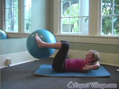 Advanced Pilates: Heel to Gluts (ExpertVillage.com) Tags: yoga ball joseph diy video village muscle health heels heel educational strength lose workout fitness information abs weight learn core pilates advanced expert glut instructional gluts expertvillagecom expertvillage wwwexpertvillagecom corestrength heelstogluts