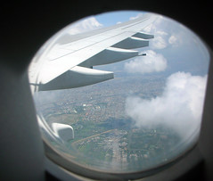 flying into hanoi (ReSurge International) Tags: charity window plane asia wing vietnam landing hanoi doc ngo npo nonprofit chau interplast chaudoc sproule timsproule