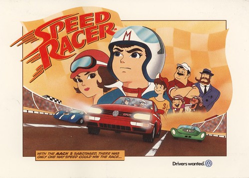 Speed Racer meteoro anime