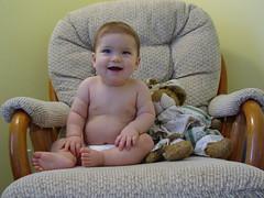 Corinne at 9 months