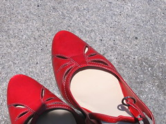Red Shoes 5 (Teenschen) Tags: sf red closeup shoes yerbabuena