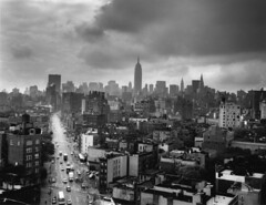 View from 225 Varick Roof (westvillagebob) Tags: new york roof film rooftop cityscape 6x7cm mybelovedmakina