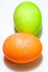 Orange and green (Heather Leah Kennedy) Tags: food orange color green easter colorful egg eggs eastereggs easteregg