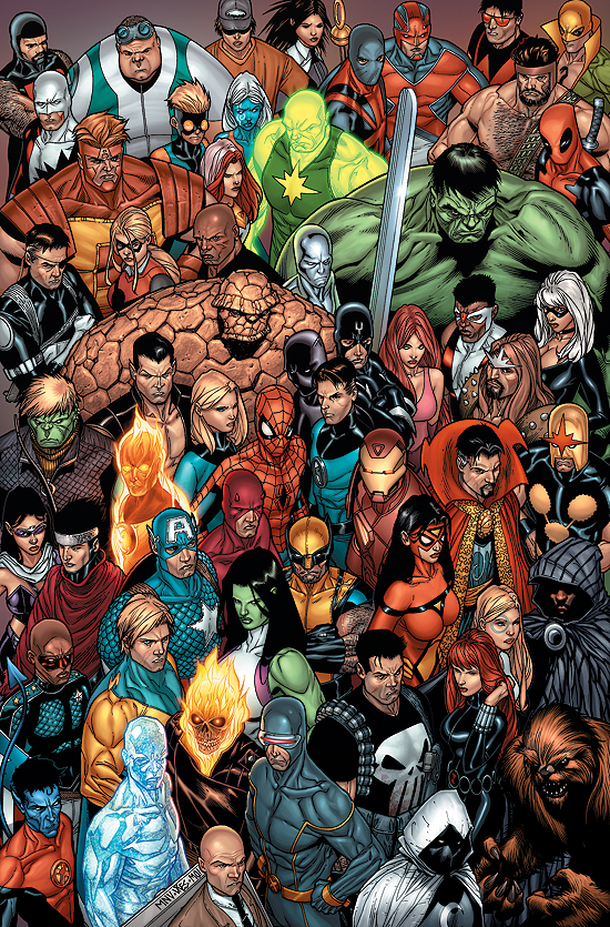 Comic de Marvel X-Men