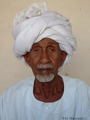 -Ali- (Vt Hassan) Tags: africa old portrait people man face expression sudan turban