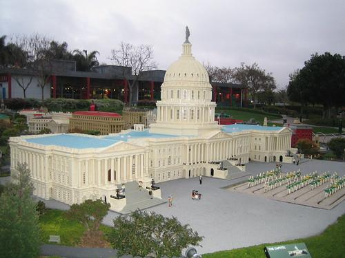 legoland · california · san diego · lego · white house · Miniland USA