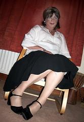 bigleggy (Karen Julia) Tags: tx tranny upskirt tg ukangels petticoats