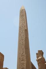 Obelisk (garylapointe) Tags: temple pillar egypt 2006 obelisk karnak luxor hieroglyphics karnaktemple garylapointeflickr egypt2006 hallofpillars
