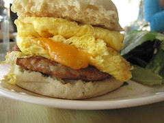 "Fatty's ""The Fatty"" (Adam Kuban) Tags: nyc newyorkcity breakfast queens astoria brunch nyccuisine fattys eggsandwiches breakfastsandwiches"