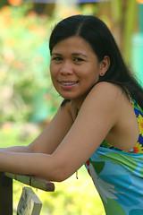 Davao 2005 - Samal Island (let) Tags: portrait woman smile lady female asia pretty amy philippines charm davao paradiseisland samalisland mindanao philippinen