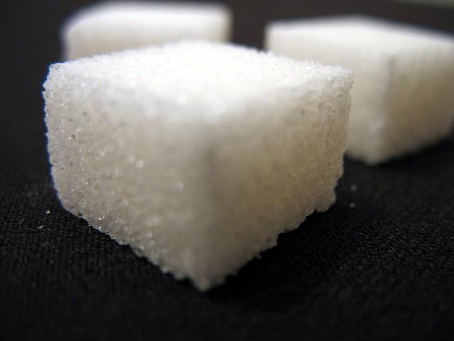 sugar, sucrose, fructose, HFCS, sugar cube