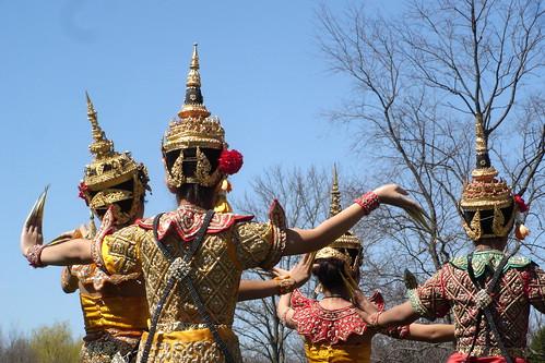 Bailarinas tailandesas