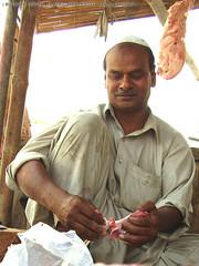 Butcher (Jamash) Tags: pakistan working butcher again cropped karachi jamal jamash ashiqain