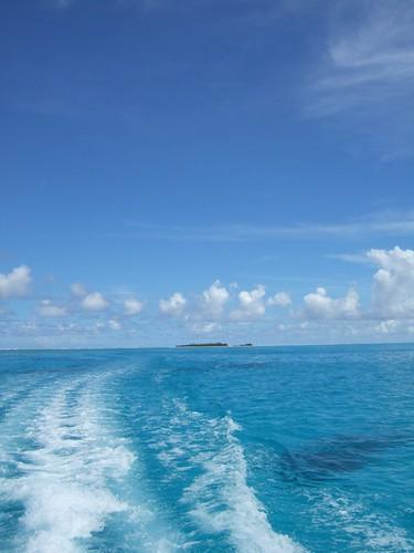 Aitutaki Lagoon colours