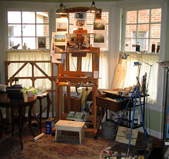 Work space (dgray_xplane) Tags: artist photos working tools workspace workarea xplane davegray dgray dgrayxplane
