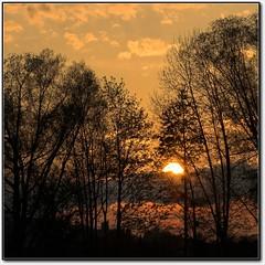 Red Sunrise - by Lars Tinner