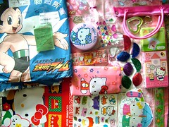 from juliek TAIWAN (Pink Sushi) Tags: china dubai hellokitty taiwan swap kawaii taipei package astroboy airmail juliek