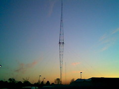 WLW radio tower