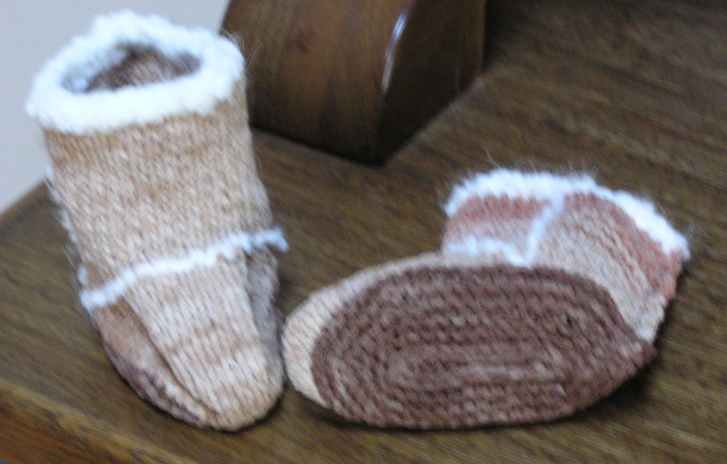 First Baby Booties