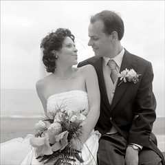 lila and bernard (heyoka) Tags: wedding bernard lila happyhappyjoyjoy rollei35f fomaaction400 sweetnoderlove