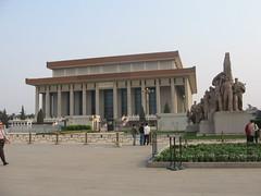 Beijing - Chairmen Mao Mausoleum (Alasdair Milne) Tags: china square asia beijing tiananmensquare rtw peking