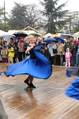 Dancing despite the rain