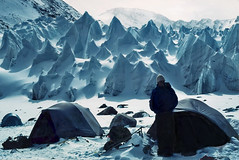 Shishapangma Advance Base camp (xtremepeaks) Tags: snow mountains cold color ice beautiful horizontal wow landscape fun photography freedom climb high image action altitude images tibet adventure climbing achievement license getty motivation remote effort climber exploration endurance success himalayas pinnacles gettyimages determination teamwork penitentes bigmomma serac interestingness411 shishapangma i500 explore01may06 250v10f xixapangma aplusphoto nevepenitentes thechallengefactory xtremepeaksgetty