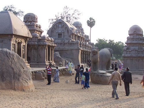 mamallapuram-more five rathas