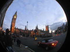London in a Fisheye (THEfunkyman) Tags: london parliament bigben fisheye