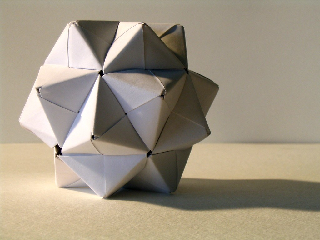 The World's Best Photos of origami and poliedro - Flickr ... - photo#45