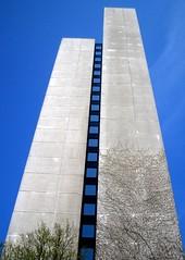 stairway to heaven (Desideria) Tags: blue architecture germany concrete twins heaven hamburg himmel haus architektur blau creep altona beton stairwaytoheaven zwillinge