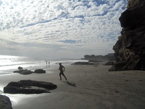 Corriendo a la Playa