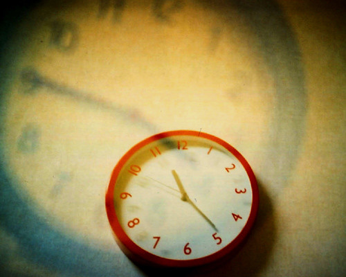 Time is never time at all.. by IsobelT on flickr