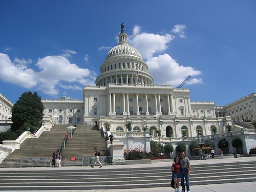Capitol Building image from Flickr.