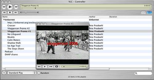 XSPF in VLC par Pete Prodoehl