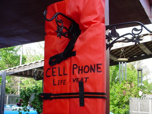Cell Phone Life Vest