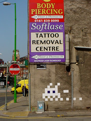 Space Invader, Northern Quarter