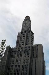 Williamsburgh Savings Bank tower (Triborough) Tags: nyc newyorkcity ny newyork film brooklyn minolta 2006 gothamist fortgreene shotonfilm x700 kingscounty onehansonplace may2006 williamsburghsavingsbankbuilding thewiliamsburghsavingsbanktower thewiliamsburghsavingsbankbuilding