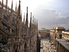 View from Milan's Duomo (AnnuskA  - AnnA Theodora) Tags: italy milan church topf25 topf50 marble duomo milão mármore 3000v120f 500yearstobefiinished
