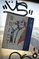 goast (eb78) Tags: sf sanfrancisco urban streetart art graffiti sticker stickerart thecity urbanart bayarea goast guerillaart