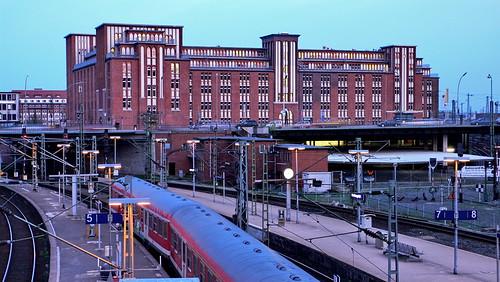 Hauptbahnhof und Hühnerposten in Hamburg Sankt Georg