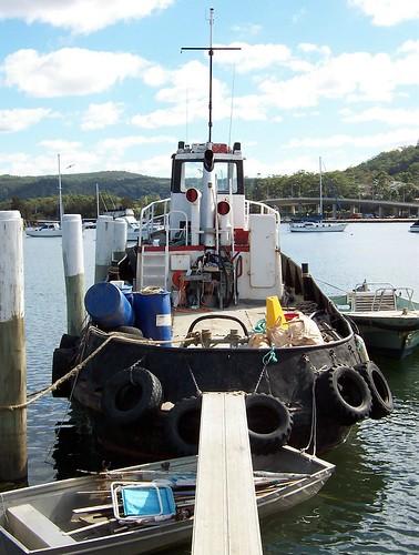 MV Gladstone Gosford Wharf