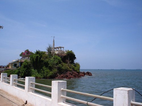Dona Paula Suicide Point is beautiful tourist spot in Goa, India