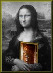 Leon_Hard_Core (Master Mason) Tags: psp title tribute paintshoppro leonardo leonardodavinci codicedavinci davincicode monnalisa gioconda surreal surrealism surrealismo surrealistic art arte artistic follia