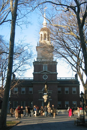 Artistic spirit lives in the Athens of America - Independence Hall Philadelphia