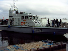 Navy training boat at Crinan Canal (Lochboisdale Cafe) Tags: boat navy young sailors bunch