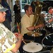 Jim Roberson, drums, Brian Schiegel tuba, and George Preston euphonium, Raspberry Jam Band